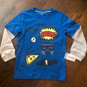 Carters 4t graphic t NWT